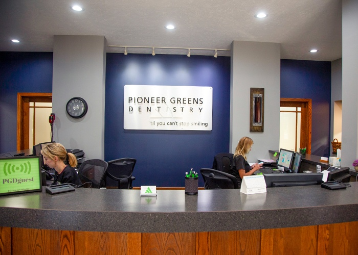 Pioneer Greens front office staff